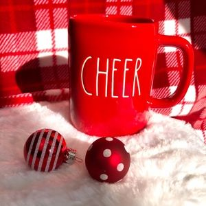NEW Rae Dunn - CHEER Christmas/Holiday Mug - NEW